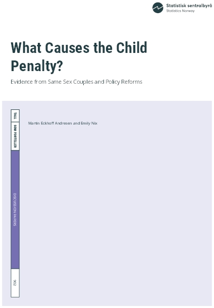 What Causes the Child Penalty?
