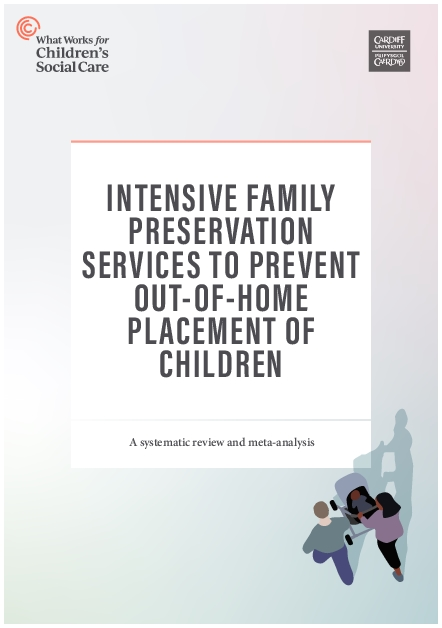 Intensive Family Preservation Services to prevent out-of-home placement of children.